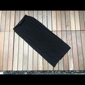 FRECKLES Long Black Skirt